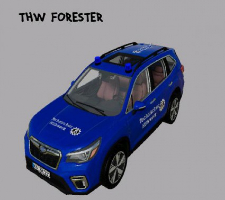 Trending mods today: Subaru Forester 2019 THW v1.0