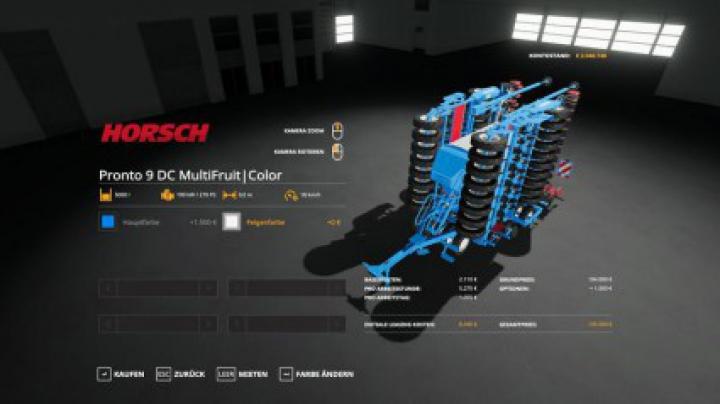 Implements & Tools Horsch Pronto 9DC - MultiFruit - MultiColor v1.3