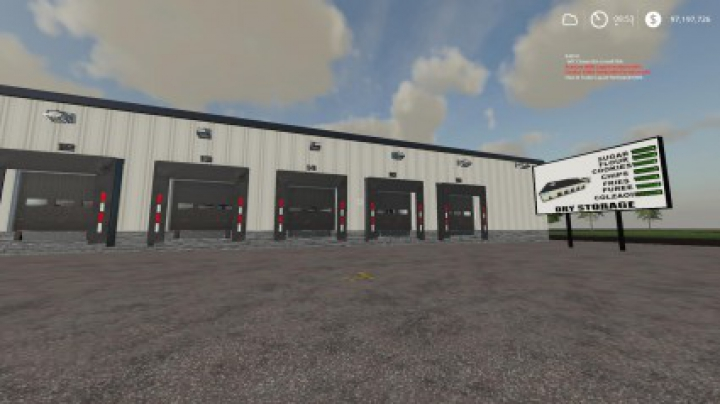 Trending mods today: FS19 Warehouse DryStorage BETA