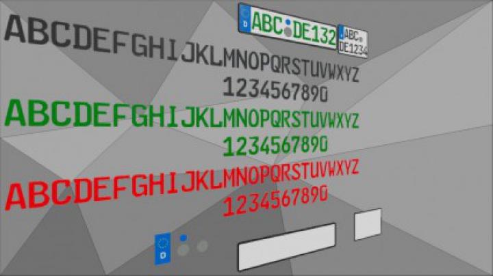 Trending mods today: Simple License Plate Building Kit v1.0.0.0