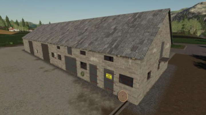 Trending mods today: Polish Brick Barn v1.0.0.0