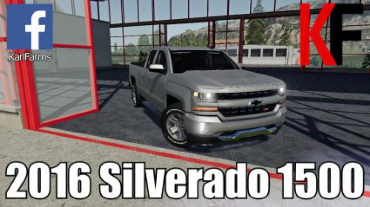 Trending mods today: Chevrolet Silverado 1500 v1.0
