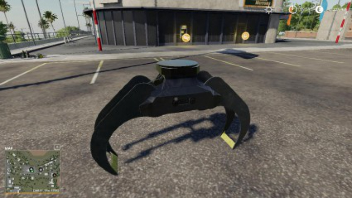 Implements & Tools Small Arm Fixed Clam v1.0.0.0