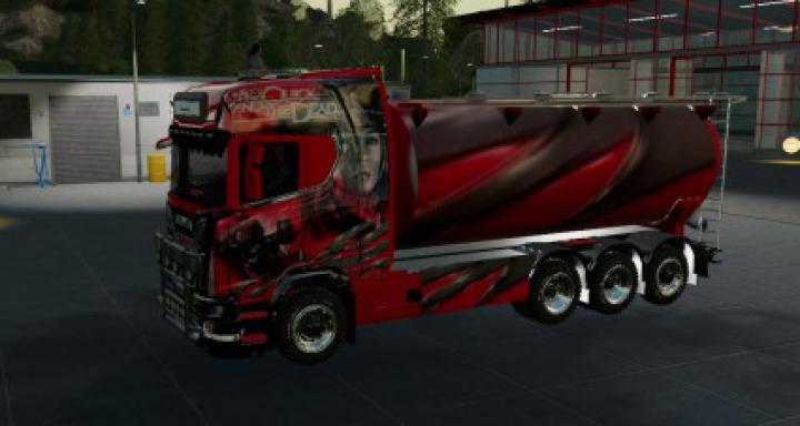 Trending mods today: Scania Bulk and trailer v1.0