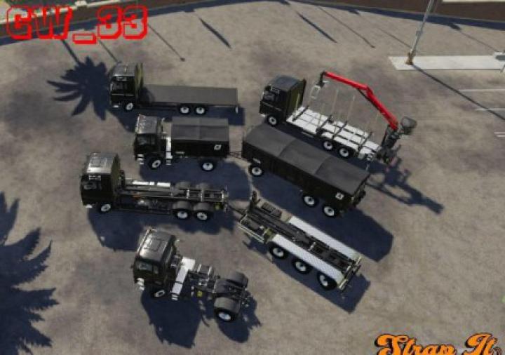 Trending mods today: Man truck Pack StrapIt v1.0.0.0