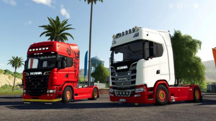 Trending mods today: Scania S580 Custom (Original version) v1.0.0.0