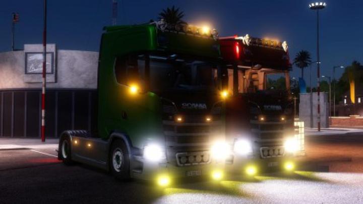 Trucks Scania S580 Custom (Original version) v1.0.0.0