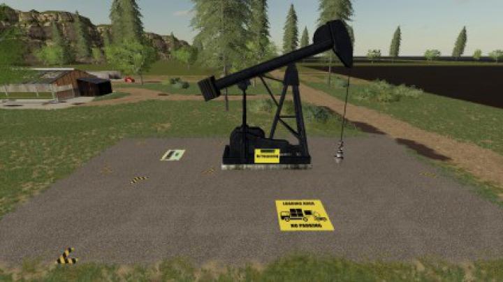 Trending mods today: FS19 CRUDE OIL PUMP v1.2
