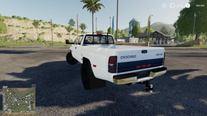 Cars 2nd Gen Dodge Ram 3500 v2.0