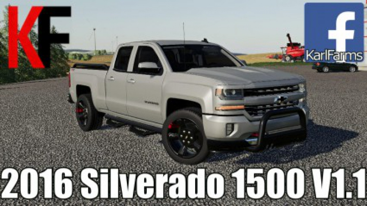 Trending mods today: 2016 Chevrolet Silverado 1500 v1.1