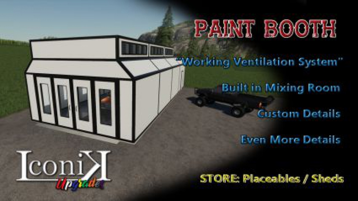 Trending mods today: Iconik Paint Booth