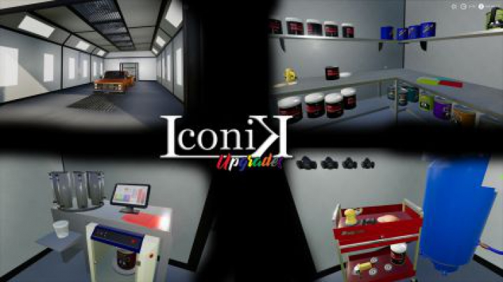other Iconik Paint Booth v2