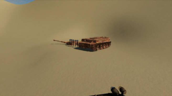 Trending mods today: Destroyed Tiger 1 tank v1.0