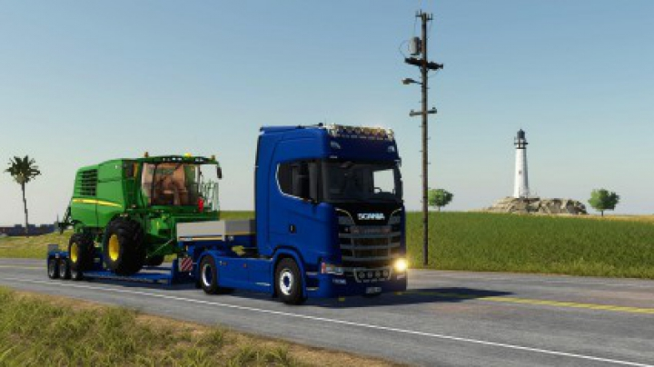 Trending mods today: Scania S580 V8 v2.0.0.0