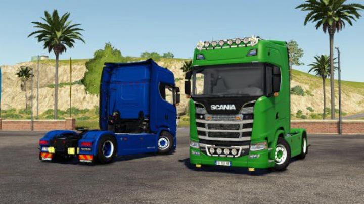 Trucks Scania S580 V8 v2.0.0.0