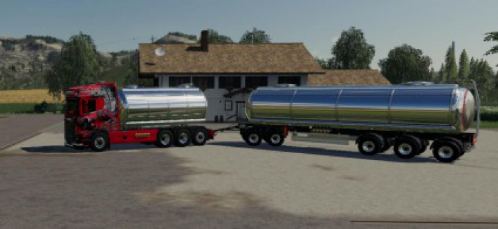 Trending mods today:  Scania liquid transport v1.3
