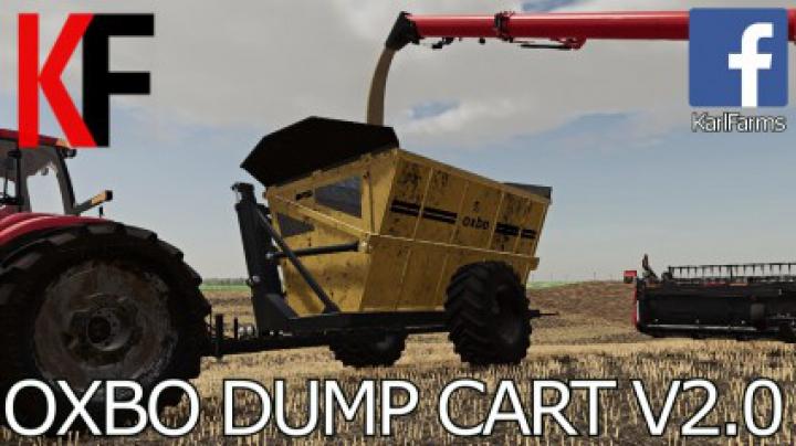 Trending mods today: Oxbo High Tip Dump Cart v2.0