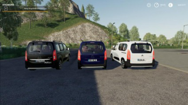 Vehicles Citroen Berlingo SEK v1.0.0.0