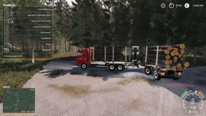 Trending mods today: MKS8 forest trailer MP v1.0.0.0