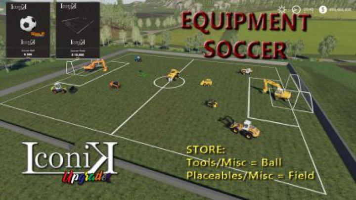 Trending mods today: Iconik Soccer Set