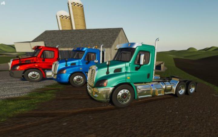 Trending mods today: Freightliner Cascadia Day Cab v1.0