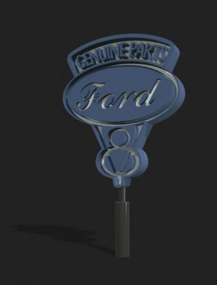 Trending mods today: FS19 Old Ford Sign v1.0