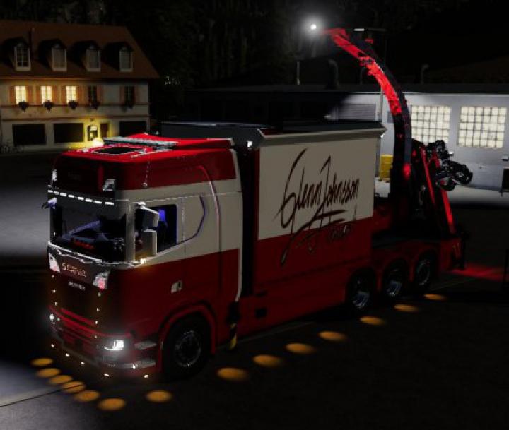 Trending mods today: Scania Johnsson Bruks v1.0
