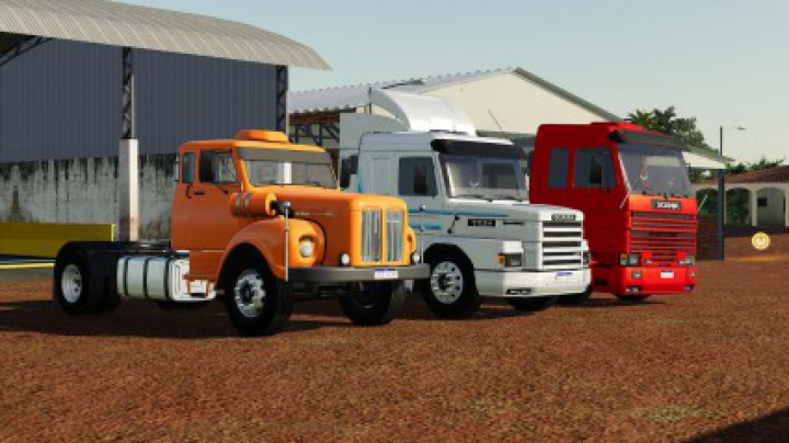 Trending mods today: Scania Trucks Pack v1.0