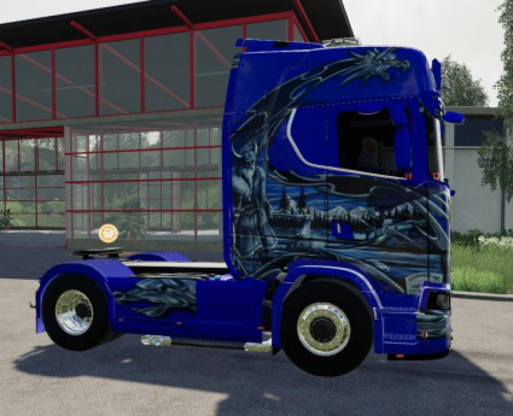 Trending mods today: Scania NG schtroumpf v1.0