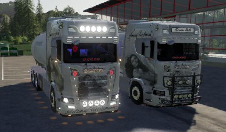 Trending mods today: Scania NG Bulk and trailer v1.1
