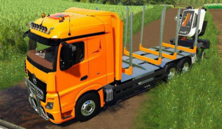 Trending mods today: Mercedes Benz Actros 1845 Forestier v1.0.0.0