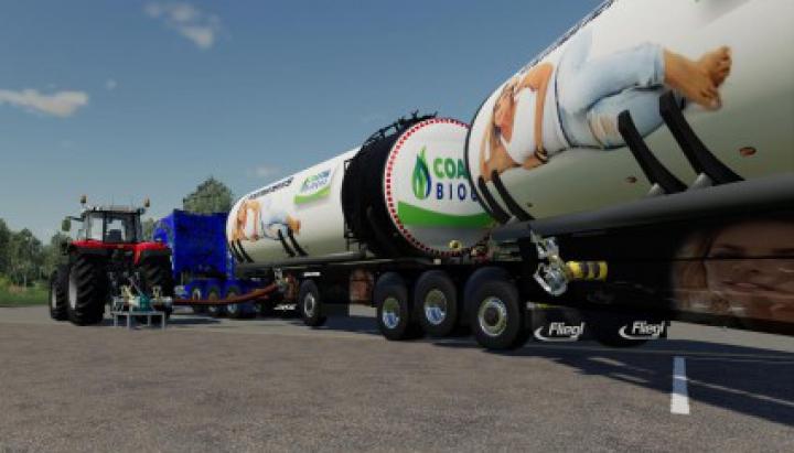 Trending mods today: Fliegl Semi Roadtrain Biogas Trailer v1.5