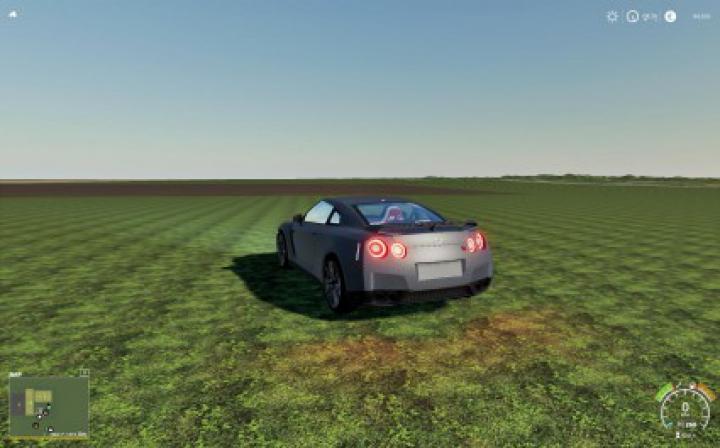 Trending mods today: Nissan GTR Fs19 v1.0