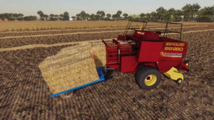 Trending mods today: New Holland BB980 (ACTUAL MOD)