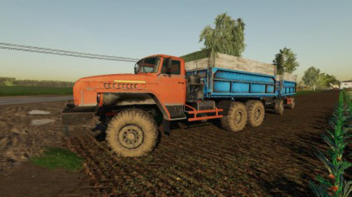 Trending mods today: URAL 4320 SELHOZ v1.0.0.0