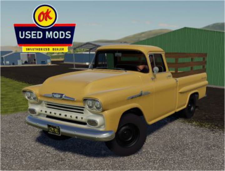 Trending mods today: 1958 Chevy Apache Task-Force V1.0 edit by OKUSEDMODS
