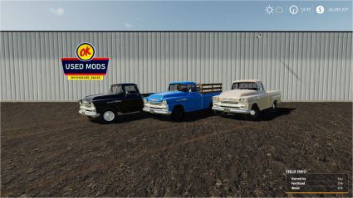 cars 1958 Chevy Apache Task-Force V1.0 edit by OKUSEDMODS