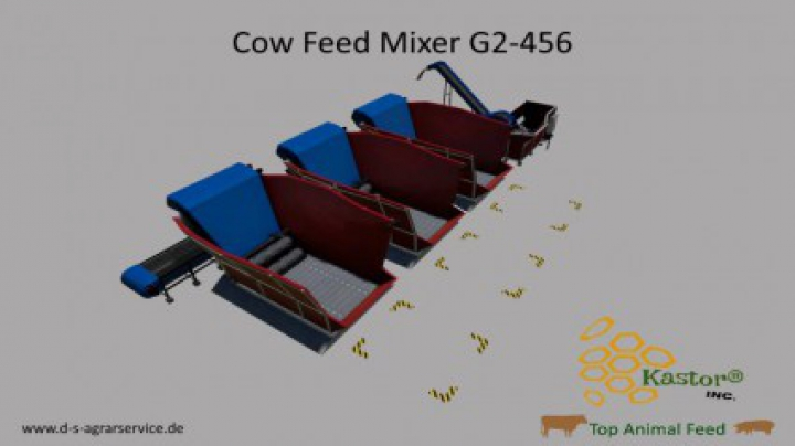 Trending mods today: Feed Mixer G2-456 By Kastor Inc. v1.2.0.0