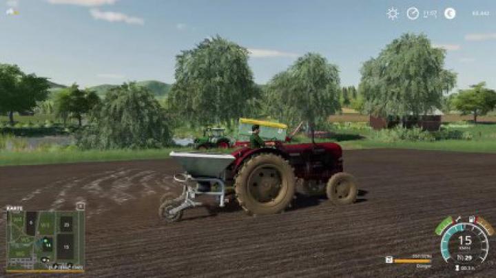 Implements & Tools Fertilizer spreader D028/4 v4.0