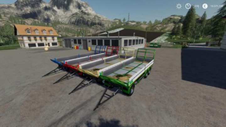 Trending mods today: Trailer 3 axle with platform for Scania S580 truck v1.0.0.0