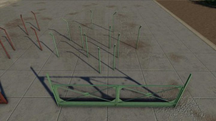 Trending mods today: Concrete And Metal Fences Pack v1.0.0.0