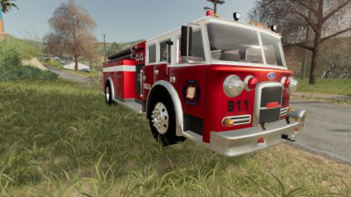Trending mods today: Ford Firetruck