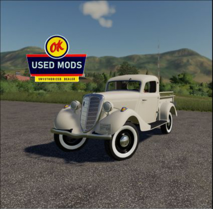 Trending mods today: 1939 GAZ M415 Pickup V2.0 - By OKUSEDMODS