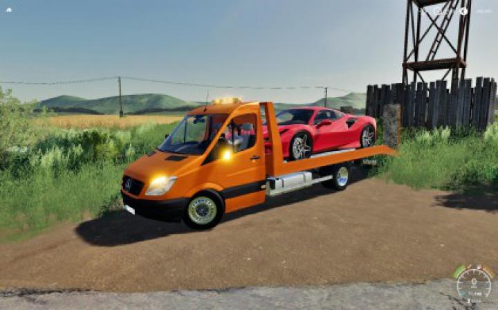 Trending mods today: Mercedes Sprinter Transporter FS19 v1.0