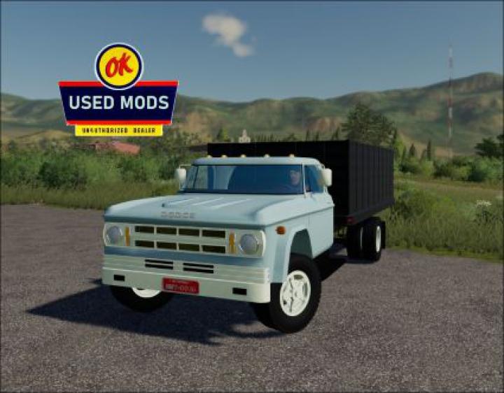 Trending mods today: 1969 Dodge D700 Grain V2.0 - By OKUSEDMODS