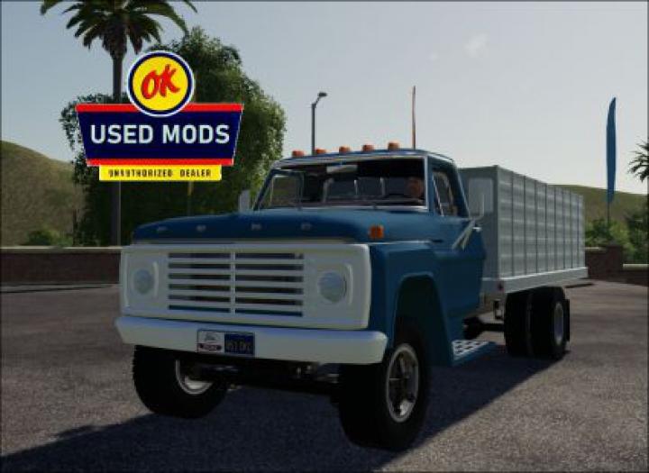 Trending mods today: 1967 Ford F600 V4.0 Grain Truck - By OKUSEDMODS