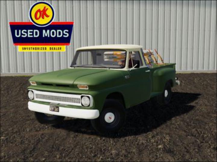 Trending mods today: 1966 Chevy C10 Base Trim V3.0 edit by OKUSEDMODS MODS