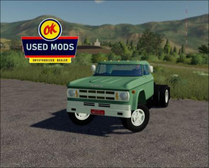 Trending mods today: 1969 Dodge D700 V2.0 Semi - By OKUSEDMODS
