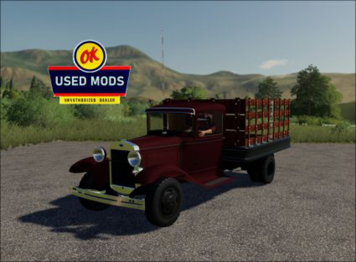 Trending mods today: 1929 Ford AA Truck V1.0 - By OKUSEDMODS