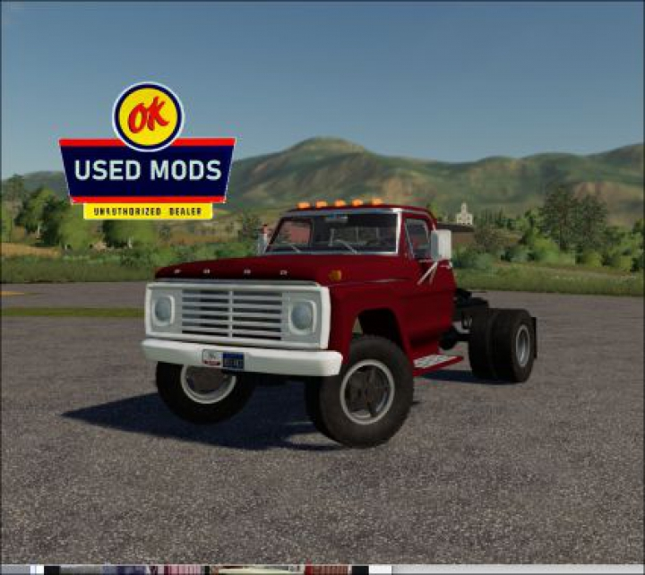 Trending mods today: 1967 Ford F600 Semi V3.0 - By OKUSEDMODS